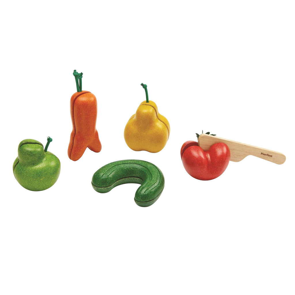 Plan Toys Wonky Fruits & Vegetables 5
