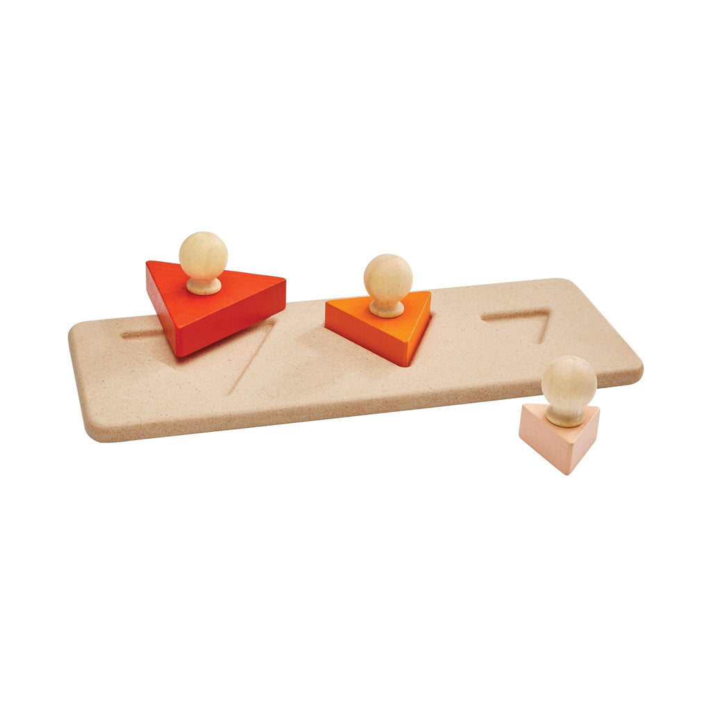 Plan Toys Matching Puzzles Triangle