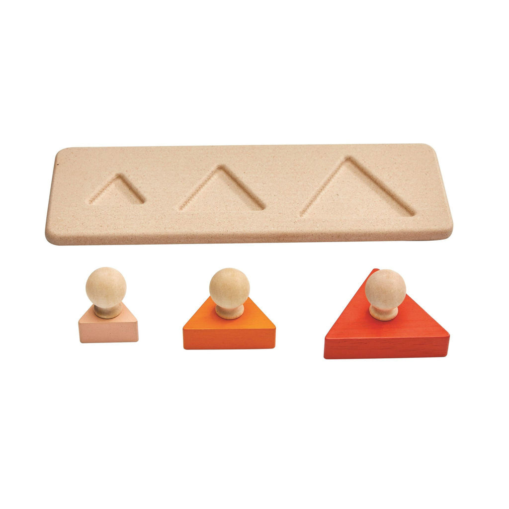 Plan Toys Matching Puzzles Triangle 1