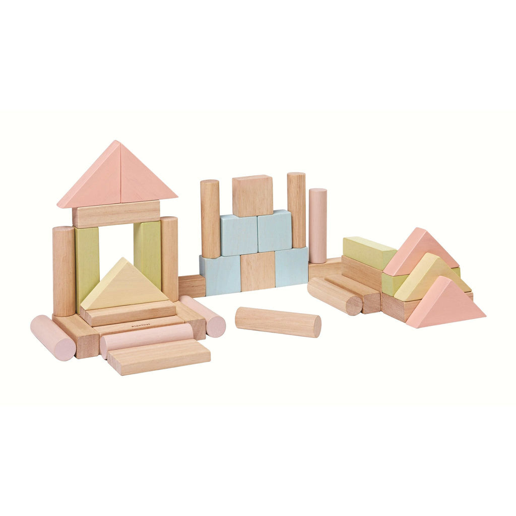 Plan Toys Pastel Blocks [40] 3