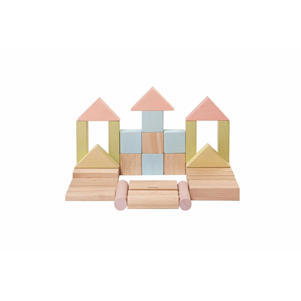Plan Toys Pastel Blocks [40] 1