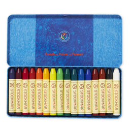Stockmar Wax Crayons Assorted Colours [16]