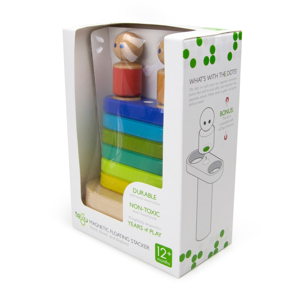 Tegu Floating Stacker Blue/Green 8