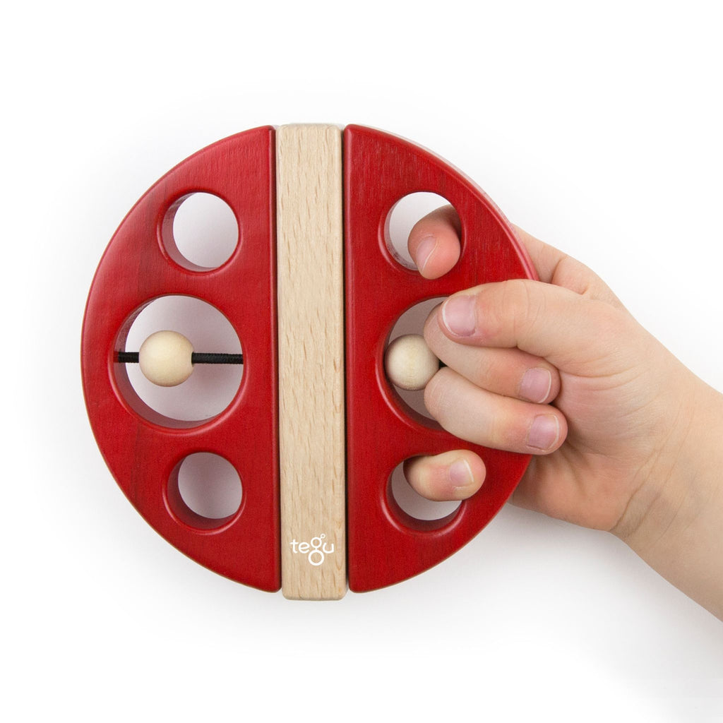 Tegu Swivel Bug Red 2