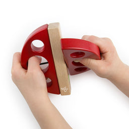 Tegu Swivel Bug Red 3