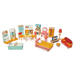 Tender Leaf Toys Townhouse Furniture Set