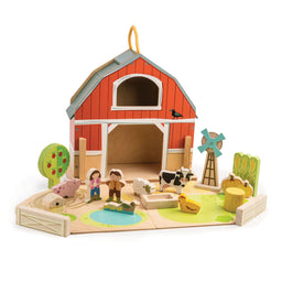 Tender Leaf Toys Little Barn Set
