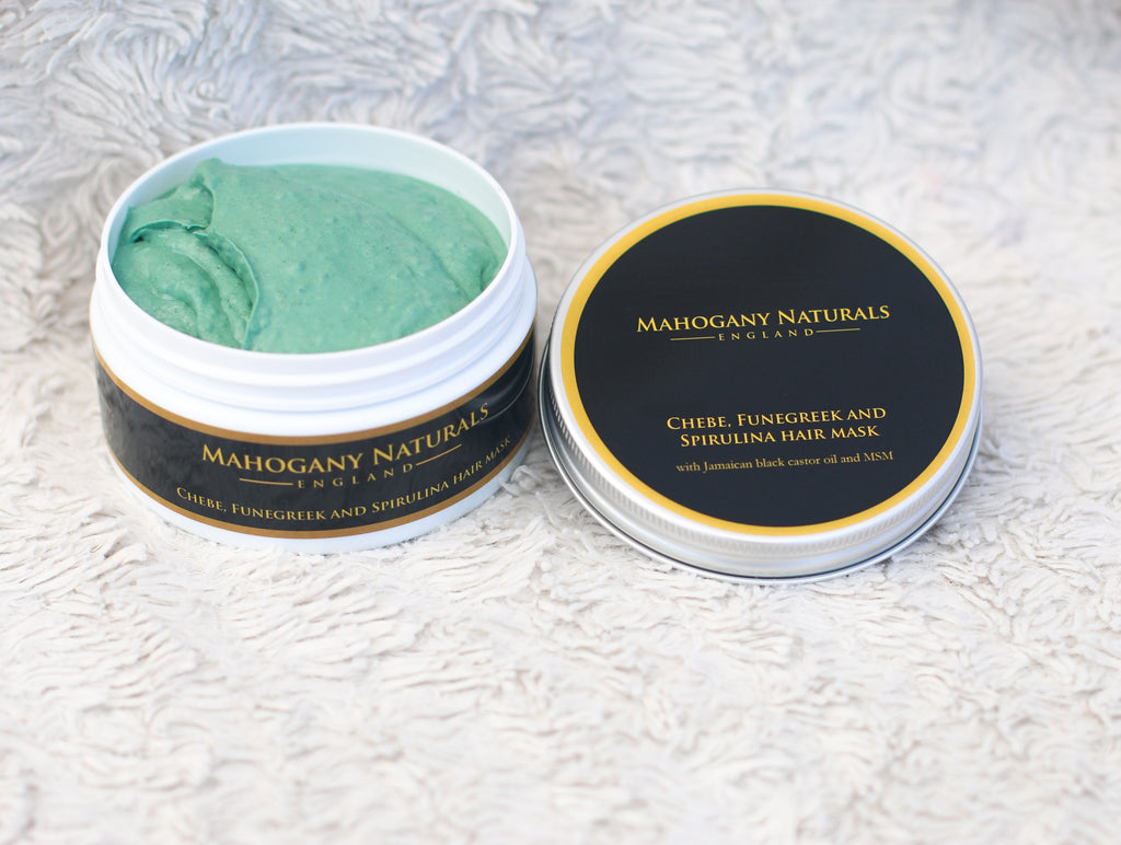 Chebe Funegreek and Spirulina Hair Mask