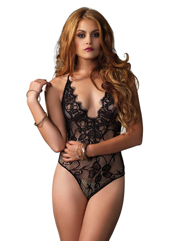 Scallop Lace Teddy