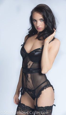 Underwired Cami Garter with G-String