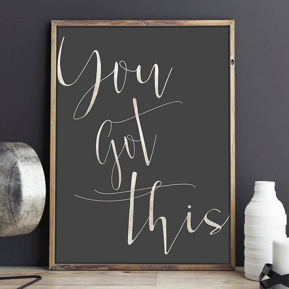 You got this art print by Beau Typographie
