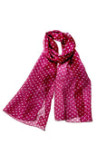 Silk Spotted Scarf
