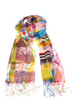 Geometric Sheer Scarf