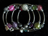 Funky Wrap Bracelets with Shell