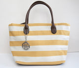 Funky Canvas Stripey Summer Bag