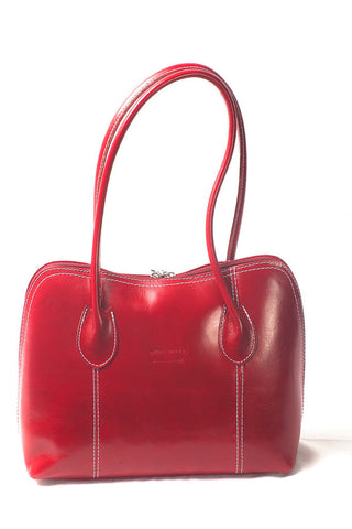 Very smart leather shoulder bag