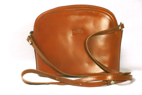 Smart over body leather bag