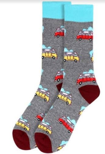 Sok-it by H2 LLC - Men's Hippy Van Socks