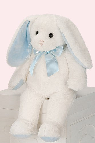 Personalized Stuffed Bunny- Blue