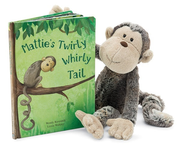 JELLYCAT Mattie's Twirly Whirly Tail
