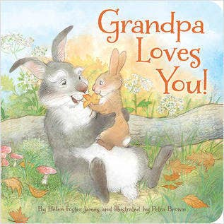 Sleeping Bear Press - Grandpa Loves You Children Picture Book