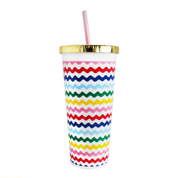 Packed Party - 24 oz Making Waves Print Tumbler