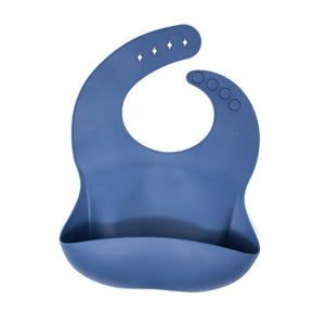 Three Hearts Modern Teething Accessories - Silicone Bibs