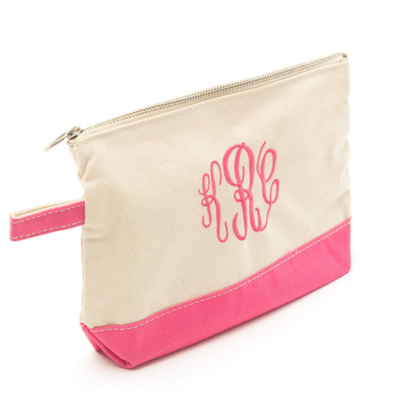 CB Station Canvas Cosmetic Case