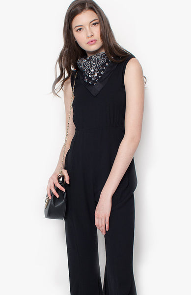 Bell of the Ball Jumpsuit - Black