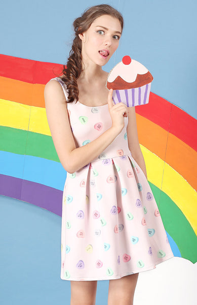 Candy Hearts Frolick Sundress