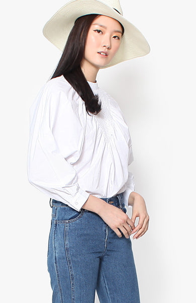 Analeigh Blouse - White