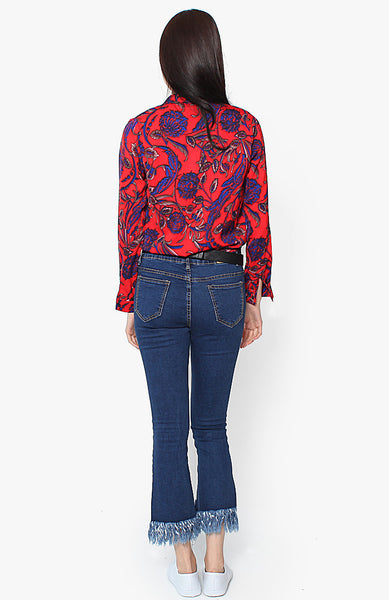Frankie Blouse - Red