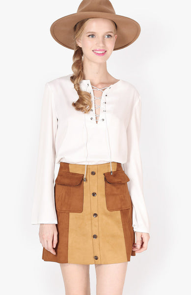 Poetic Justice Blouse - White