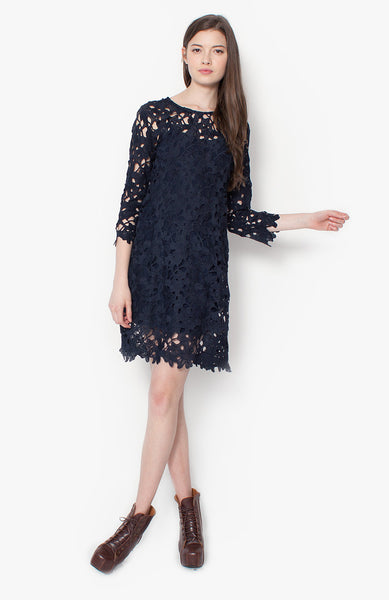 Amelie Crochet Dress