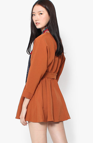 Gabrielle Dress - Ochre