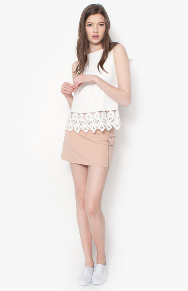 Haylie Pocket Skirt - Pink