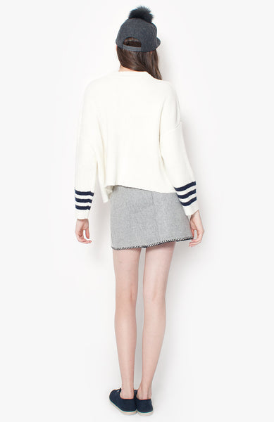 Tahlia Sweater - White