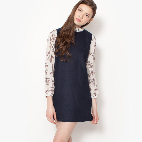 Isabelle Shift Dress - Navy