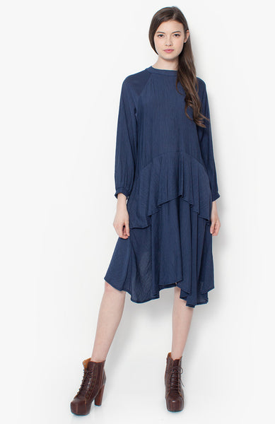 Beth Maxi Dress - Navy