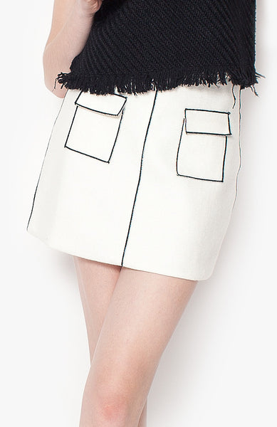 Finlay Skirt - White