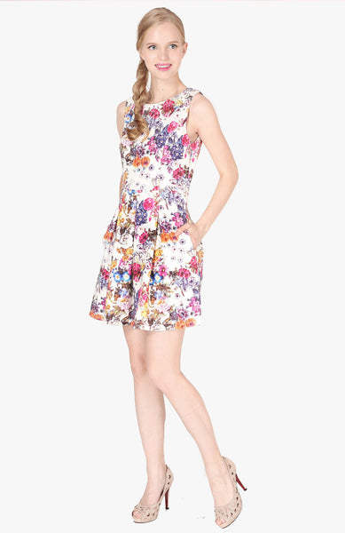 Wildflowers Dress - Multi