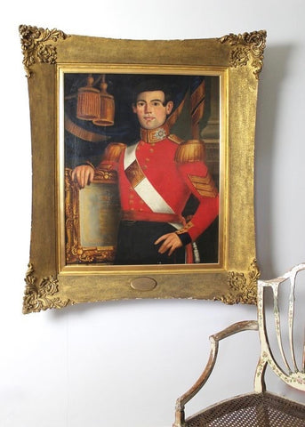 Mid 19th century portrait of a Coldstream Guard