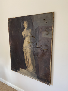 A large portrait of the Venus De Milo signed 1889 A. Déchenaud