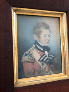 1805 portrait of Colonel Grant of the Light Infantry