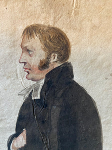 Portrait of Reverend Matthew Gardiner of Bothwell, Scotland c. 1830