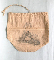 19th century abolitionist linen bag c. 1825