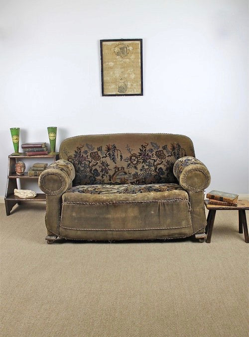 Early 20th c country house sofa