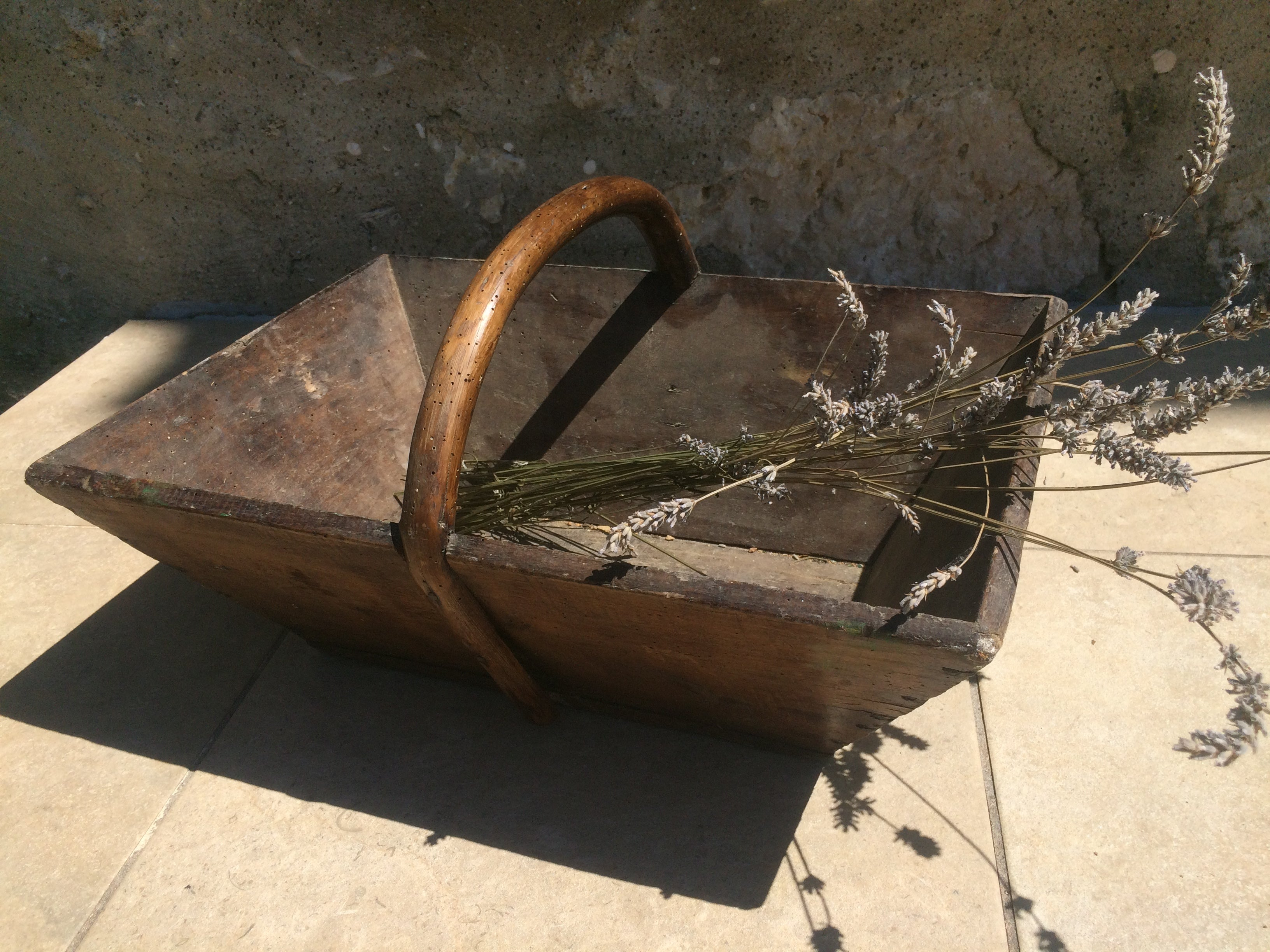 Original French grape trugs