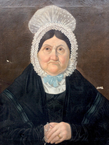 English school portrait of Mary Morris of Shropshire 1839
