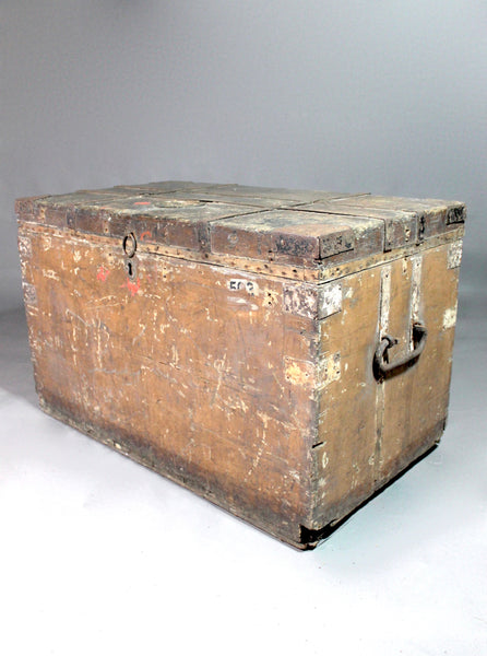 19th century Royal Navy campaign chest